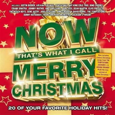 NOW Merry Christmas by Various Artists (CD, Oct-2017, Capitol) NEW