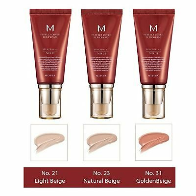 Missha M Perfect Cover Blemish Balm BB Cream SPF42 PA+++ 50ml - #13 #21 #23 #31