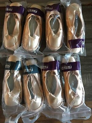 Freed Of London Pointe Shoes Size 6 1/2 XX