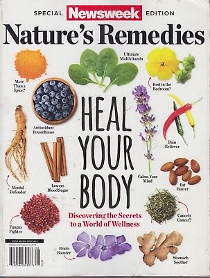 Newsweek Special Edition Nature's Remedies 2018 Heal Your Body