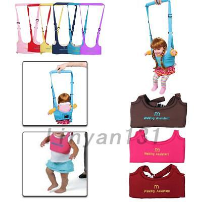 Baby Toddler Walking Safety Belt Harness with Leash Kid Assistant Strap 6 Colors