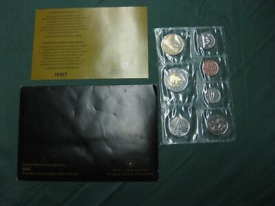NO GST//HST 1999 Canada Prooflike Set incl Envelope and COA