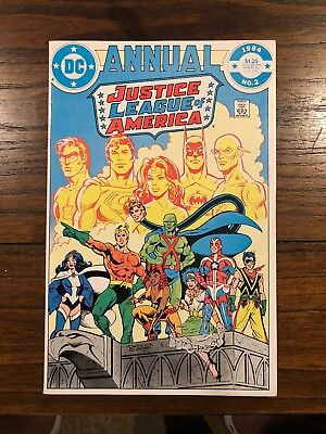 DC Comics Annual Justice League of America #2 1994 Really Nice Copy Ships In Gem