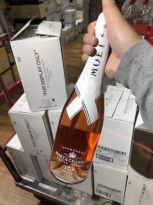 Limited Edition Moet & Chandon Nectar Imperial Rose By Virgil Abloh