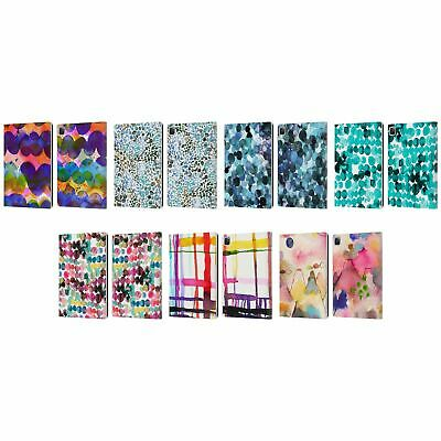 OFFICIAL NINOLA WATERCOLOUR LEATHER BOOK WALLET CASE COVER FOR APPLE iPAD