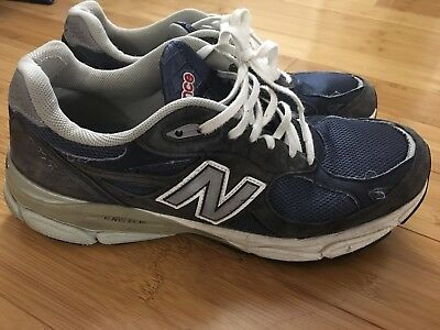 outlet store 48b85 b669e PreOwned Men s New Balance M990NV3 Running Shoes US Mens 10 D