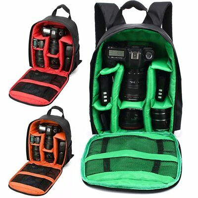 Waterproof Shockproof SLR DSLR Camera Bag Case Backpack For Canon Sony Nikon  RY