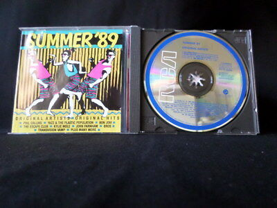 Summer '89. Compact Disc. INXS Bon Jovi Yello Noiseworks Bros Black Sorrows 1927