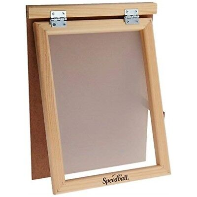 Speedball Art Products 4505 Assembled Frame W/fabric 110 Monofilament Screen -