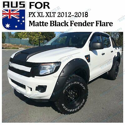 Fit 12-14 Ford Ranger T6 Gross Flare Flares Wheel Arch Arches 6 ...