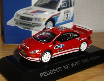 1/64 CM's Rally Car Collection SS8.5 #8 PEUGEOT 307 WRC 2005 Finland