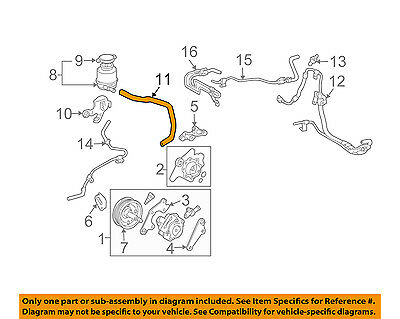 Toyota Oem 0406 Sienna Power Steeringreservoir Tank Hose. 20072010 Toyota Sienna Power Steering Reservoir Tank Hose Oem New 4434808030. Toyota. 2010 Toyota Corolla Power Steering Diagrams At Scoala.co