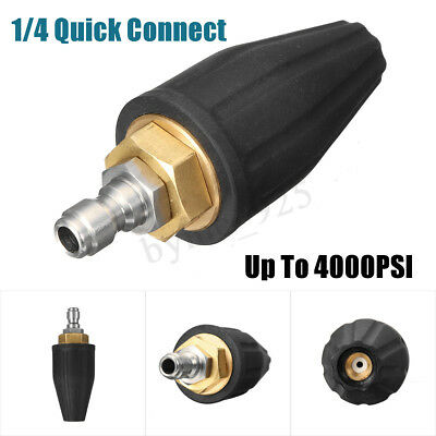 High Pressure Washer Water Cleaner Turbo Spray Nozzle 1/4'' 4.0 4000 PSI 4.0 GPM