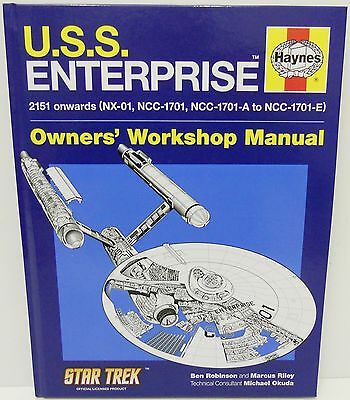 Haynes Owners Workshop Manual - USS Enterprise 2151 Onwards     160 Pages    New