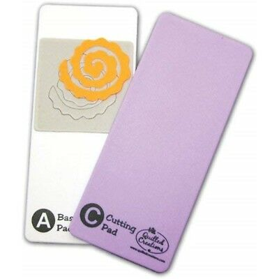 Quilled Creations Base/cutting Mat, 2-3/4 By 6-1/4-inch - Base Pads Eachpkg Set