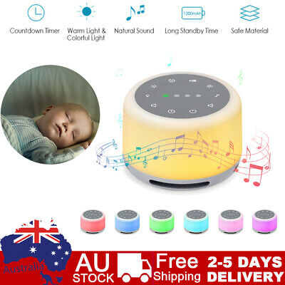 Baby Professional Therapy Sound Machine White Noise Portable Sleep Soother H4C5