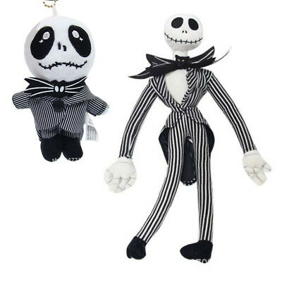 20'' The Nightmare Before Christmas Jack Skellington Plush Doll Toy Xmas Gift UK