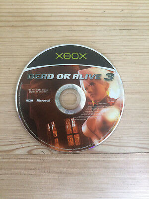 Dead or Alive 3 for Microsoft Xbox *Disc Only*