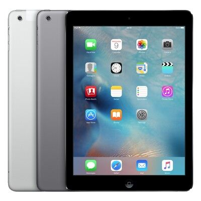 Apple iPad Air - 16GB/32GB WiFi/Cellular 4G - Air2 Tablet - Schwarz Weiß