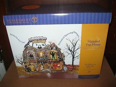 D 56 Department 56 Haunted Fun House Halloween