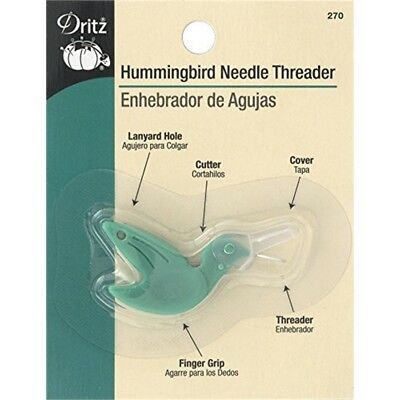 Dritz Hummingbird Needle Threader - Threadergreen