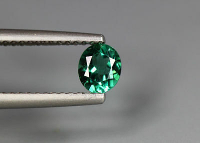 0.44 Cts_Simmering Ultra Nice Gemstone_100 % Natural Neon Green Apatite_Brazil