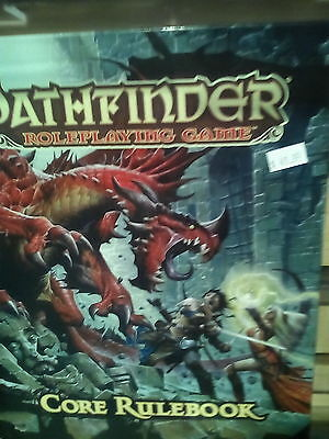 Pathfinder Roleplaying Game: Core Rulebook Hardcover Paizo Roleplaying RPG Book
