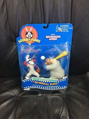 Looney Tunes Bugs Bunny In Baseball Bugs Action Figure '97