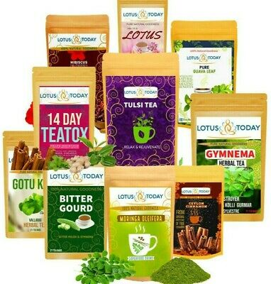 Herbal Teas Best Selection | 20 tea bags | 24 Varieties of herbal tea to choose