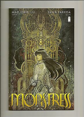 Monstress #1 1st Print Signed by Marjorie Liu w/COA Image 2015 NM! UNREAD!