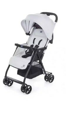 Chicco Ohlala Lightweight Foldable Baby Pushchair Stroller With Raincover