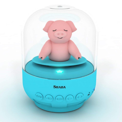 bell Jar animal pet mini Bluetooth with mic wireless Blue piggy Speaker for kids