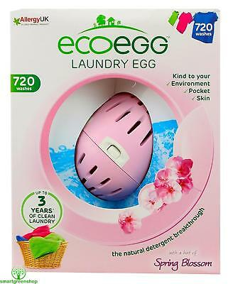 ecoegg Laundry Egg 720 Washes Spring Blossom Eco-friendly Hypoallergenic