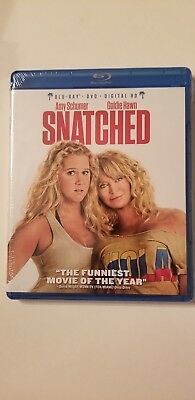 Snatched Blu-ray + DVD + Digital HD Amy Schumer Goldie Hawn BRAND NEW