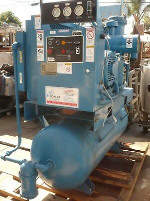 Air Compressor Quincy 40 HP Rotary Screw
