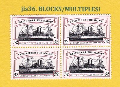 US STAMP SCT# 3192 32c BL4 1998 Mint NH 259