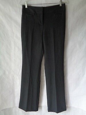 Ann Taylor Women's Gray Signature Fit Boot Leg Dress Pants Size 4 NWT