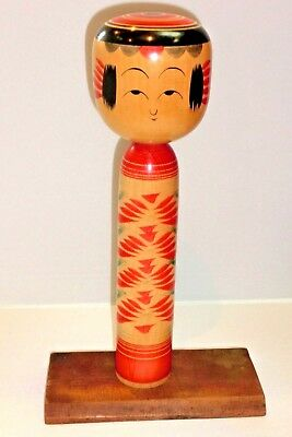 Hand Made Antique Rare Japanese wooden vintage doll KOKESHI  By TAKAICHI