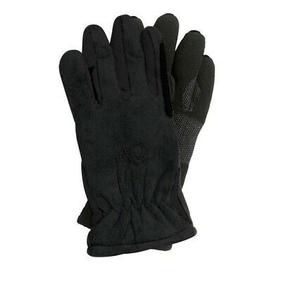 Ovation Ladies Polar Suede Fleece Riding Gloves with Gripper Palm