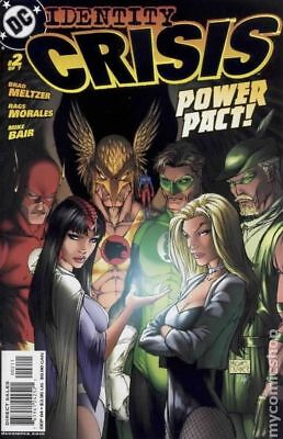 Identity Crisis #2A 2004 Turner Variant VG Stock Image Low Grade