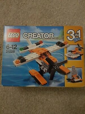 Lego Creator 31028 Sea Plane Instructions Manual And Pieces