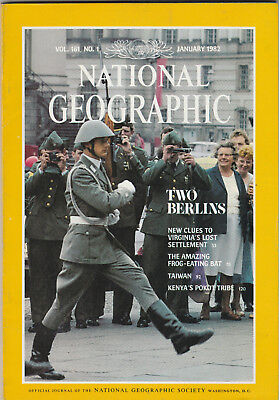 NATIONAL GEOGRAPHIC Magazine January 1982 - Two Berlins