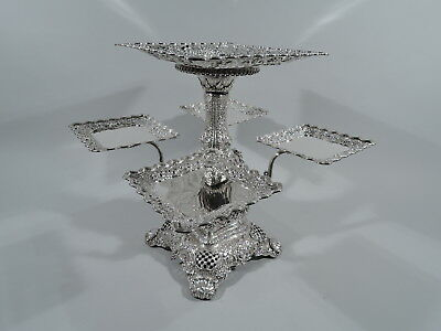 Tiffany Epergne - 5598 - Antique Centerpiece - American Sterling Silver