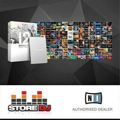 Native Instruments Komplete 12 Ultimate Collector's Edition Music Production Sui