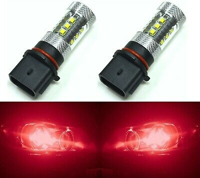 LED 80W 12277 PS13W P13W H18 Red Two Bulbs DRL Daytime Running Light Drive