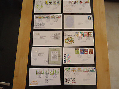 First Day Covers Fdc Complete Years +Most Minisheets Greetings Smilers 1971-2009