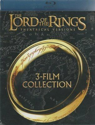 The Lord of the Rings: The Motion Picture Trilogy (Blu-ray Disc 2014 3-Disc) NEW