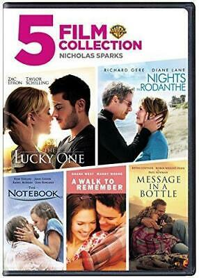 Nicholas Sparks: 5 Film Favorites (DVD, 2016) NEW