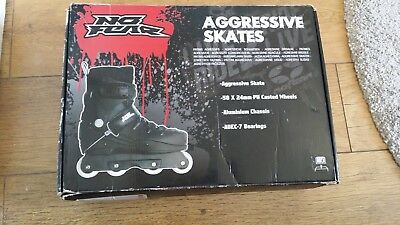 No fear Agressive roller blades size 5
