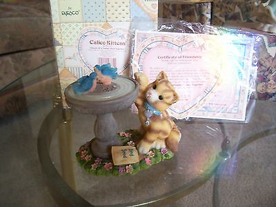 Calico Kittens LTD Friends of a Feather Flock Together MIB